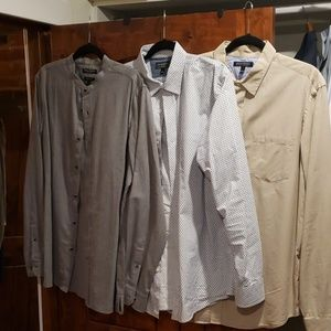 3 Banana Republic Men's Shirts Size L